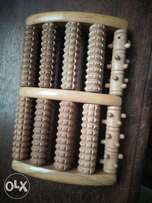 Bamboo Foot Massage Roller