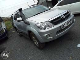 Toyota fortuner-local.petrol. KAY