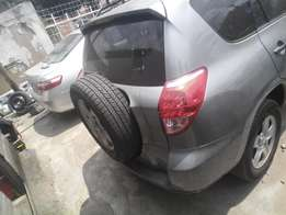 tokunbo 2006/2007,rav4,accident free