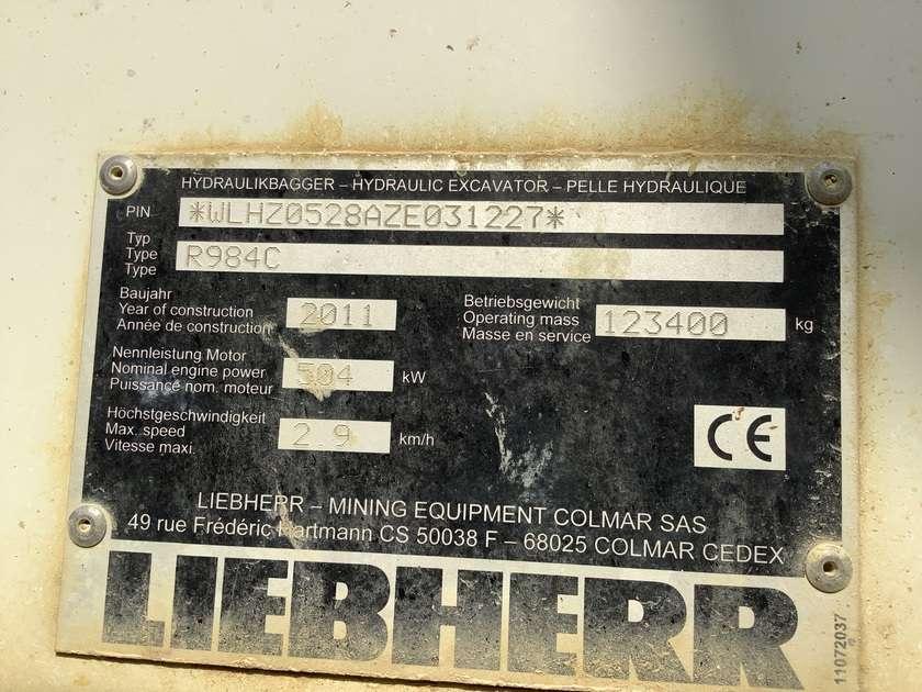 Liebherr R984C - 2011 - image 8