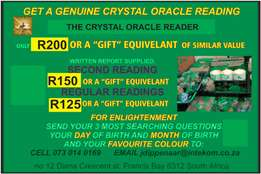 The Crystal Oracle Reader