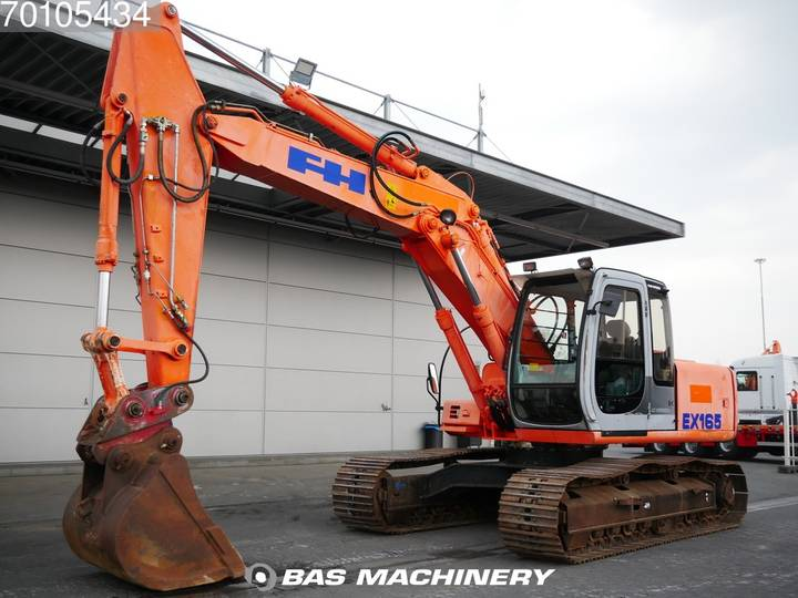 Hitachi EX165 German Dealer Machine - 2002