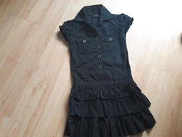 b6253f6f58 sukienka Y.D. 128 falbanki