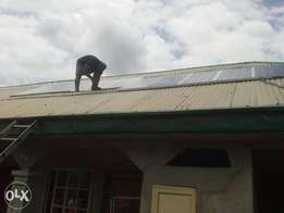 15KVA solar home system at 3,500,000. Enjoy 24 hours light supply.