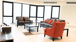 Semi furnished brand new apartment for rent in Kuwait.
