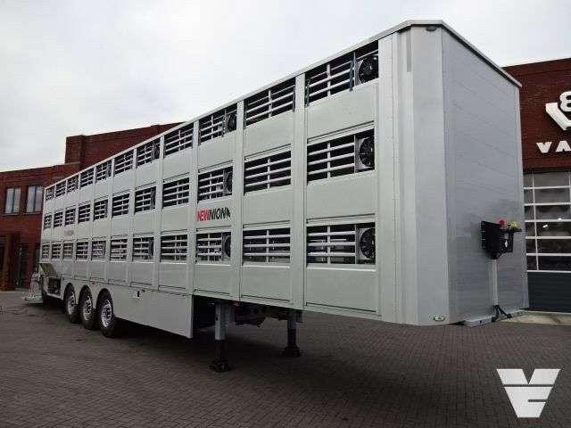 Lecitrailer 3e20 Newnion 3 Stock New Livestock Semi-trailer - 2018