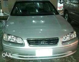 Well pimped Camry with leather seats and DVD player with sub woofer