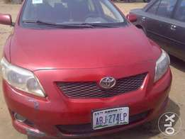 Neatly used 2008/09 Toyota COROLLA up for grabs!