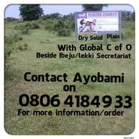 Plots Of Land at Ibeju-Lekki with C OF O on sale