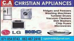 Industrial and domestic washing machines repairs and services