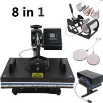 8 in 1 Heat Press Sublimation Machines Available