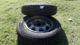 2 x 155/80 R13 Tyres for sale