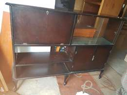 wooden showcase for sale