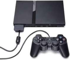 Sony ps2 with 5 games