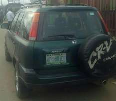 Honda CR-V 1999,first body, 4plug engine with AC for N620,000