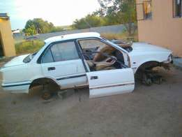 Toyota corolla striping for parts