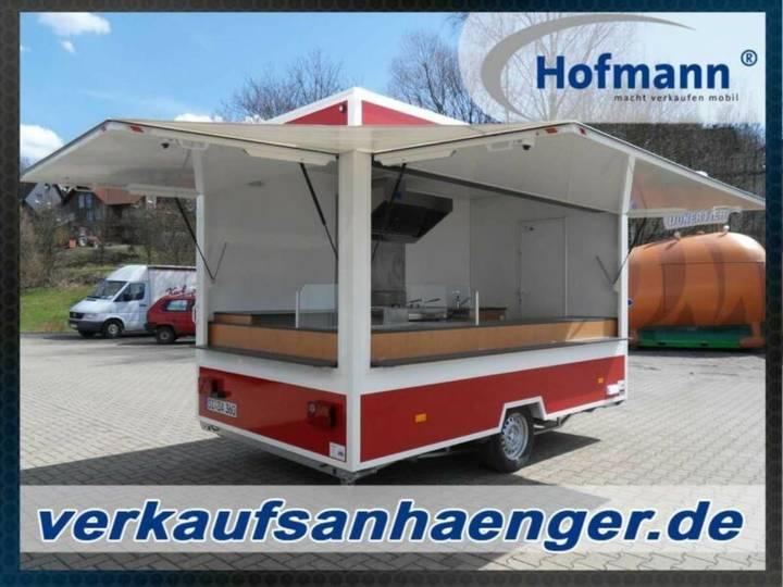 Hofmann verkaufsanhänger 360x230x230cm 1800kggg
