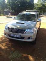 Like new 2013 Toyota cab and half 3.0D 4x4 Hilux