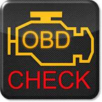 Vehicle check light reset or driving diagnostic