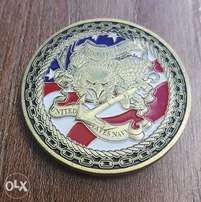 us navy army coin