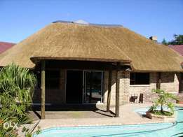 Thatch roof n fire protection