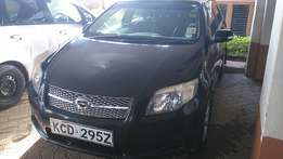 Toyota Corolla (2008)fielder clean dark interior
