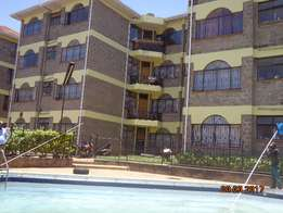 Lovely 3bedrooms apartment master en-suite, on ground floor with pool,