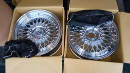 17inch HRE Rims Only Brandnew