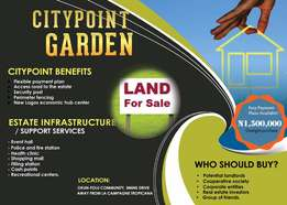 City Point Garden Gaztted #1.5m Cheap and Secured