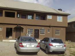 To Let: New 2 Br Flat at Arab Rd (By the Road side), Kubwa.