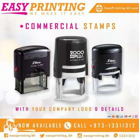 Self-Inking Office Stamp - Free Delivery Service!