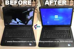 Laptop lcd and led screens repairs and sales