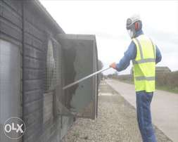 Poultry house cleaning, disinfection and fumigation