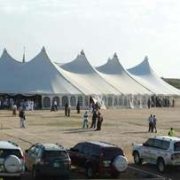 Big Imported tents and local tents for Hire for your Occasion.