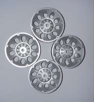 1/10 On-Road Drift Racing Wheel Rim silver