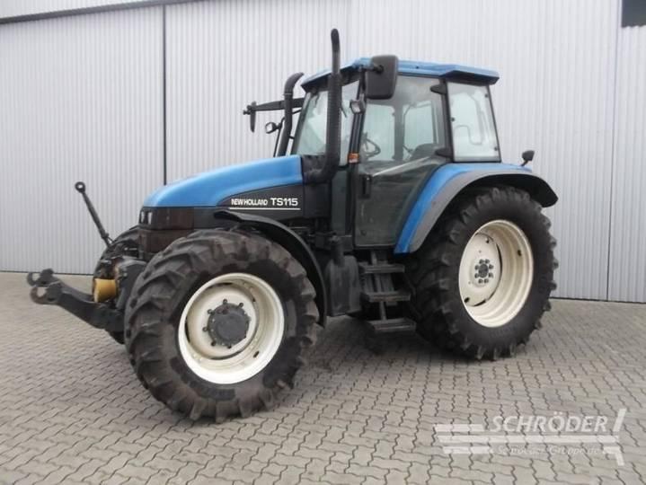 New Holland Ts 115 - 2001 - image 2