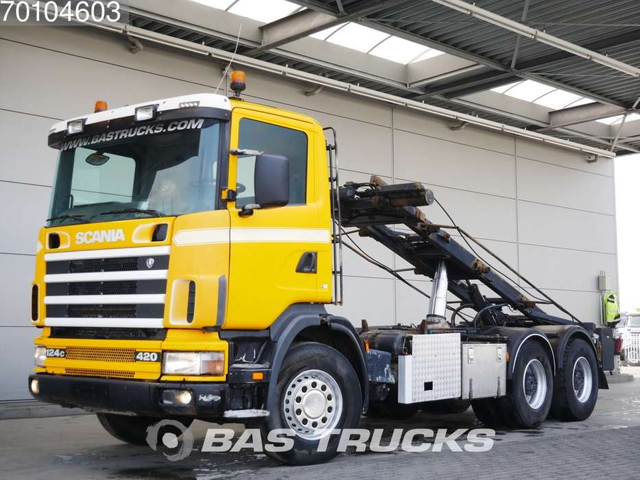 Scania 124C 420 6X4 Manual Big-Axle Euro 2 - 1999