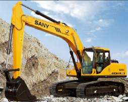 We sell new and used excavator machines