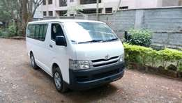 Toyota HIACE diesel auto on bargain sale