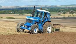 Ford tractor four wheel drive
