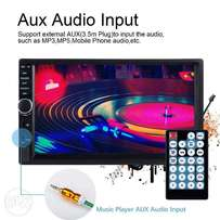 """New 7"""" 2 Din Touch Screen Car Mp5 Player Bluetooth Stereo Fm Radio Usb"""