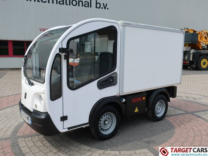Goupil G3 UTV Electric Utility Closed Box Van - 2015