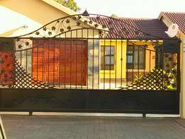 Wrought iron and custom made gates and steelwork