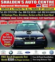 Oil Service from R850 T&Cs apply