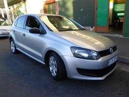 2012 model polo 6 1.4 hatchback,silver,for sale