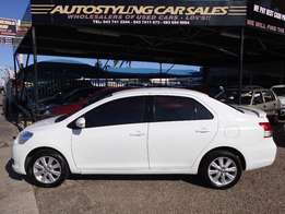 Autostyling Car Sales-East London-09 Yaris T3 Sedan Spirit,low km's,fh
