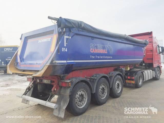 Schmitz Cargobull Tipper steel half pipe body 24m³ - 2017