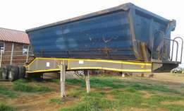 Top trailer Side Tipper (2009 Model) Quote Ref. 565