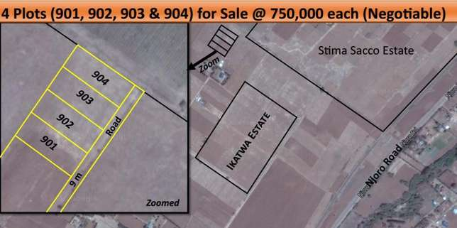 4 plots for sale Nakuru-Njoro road Nakuru East - image 3