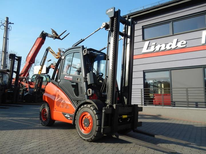 Linde H50D Side shift - 2012